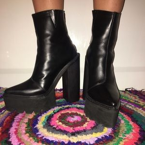 Jeffrey Campbell Mulder boots, size 7.5